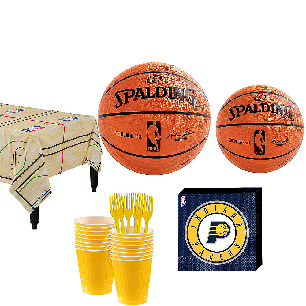 Indiana Pacers Party Kit 16 Guests Image #1