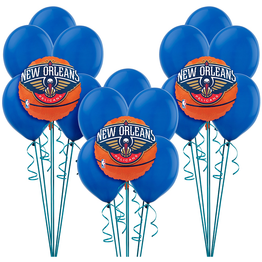 New Orleans Pelicans Balloon Kit Image #1