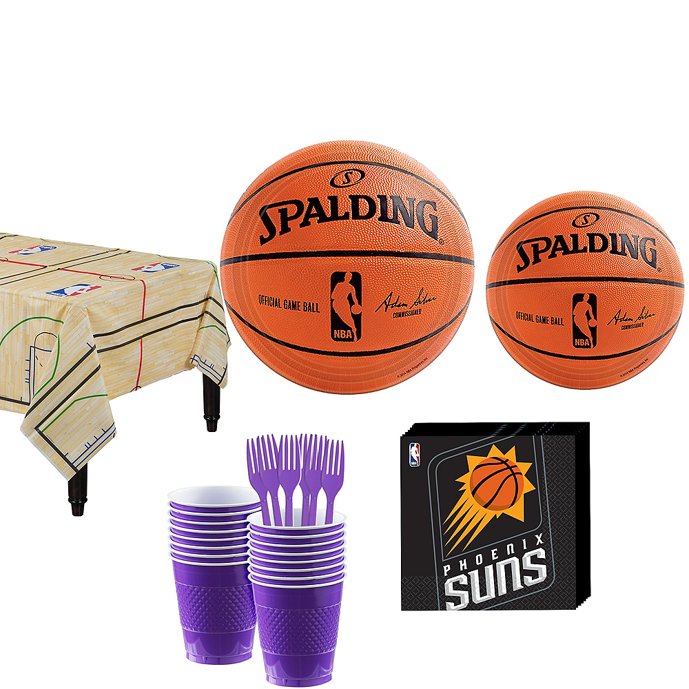 Phoenix Suns Party Kit 16 Guests Image #1