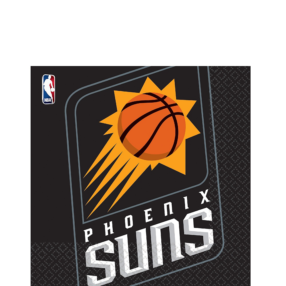 Phoenix Suns Party Kit 16 Guests Image #4