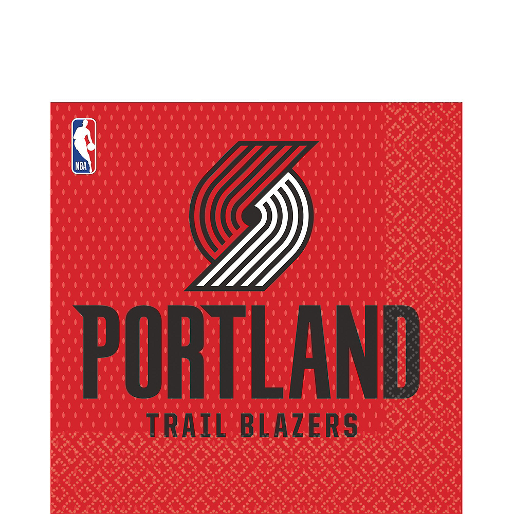 Portland Trail Blazers Party Kit 16 Guests Image #4