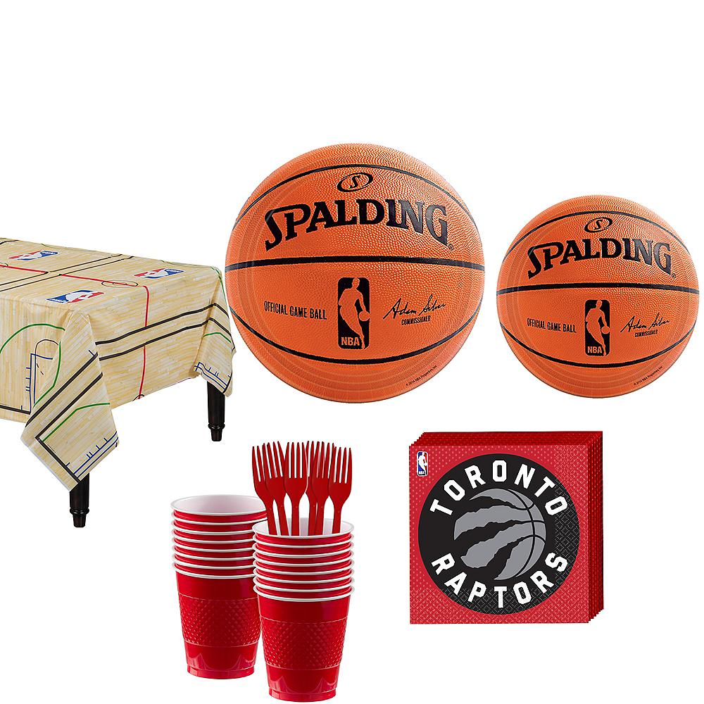 Toronto Raptors Party Kit 16 Guests Image #1