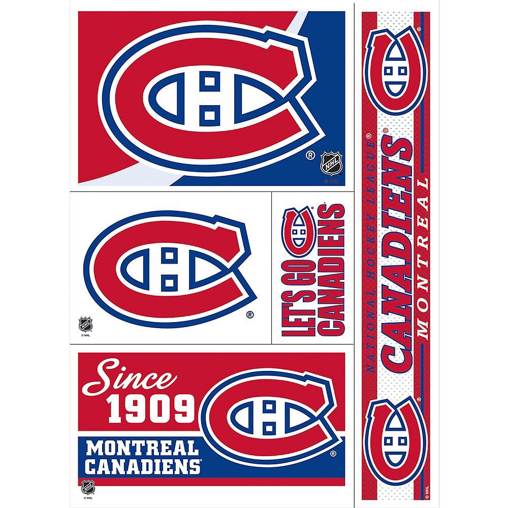quality design 60953 dbc9b Montreal Canadiens Decals 5ct