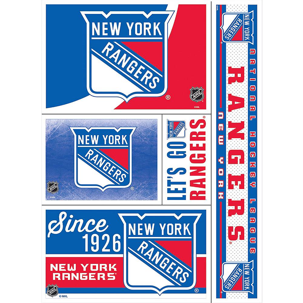 New York Rangers Decals 5ct Image #1