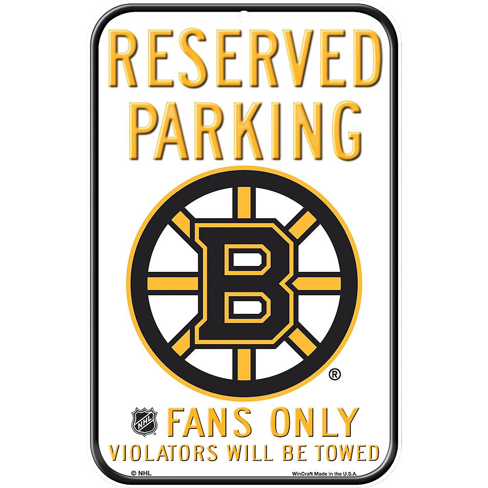 Reserved Parking Boston Bruins Sign Image #1