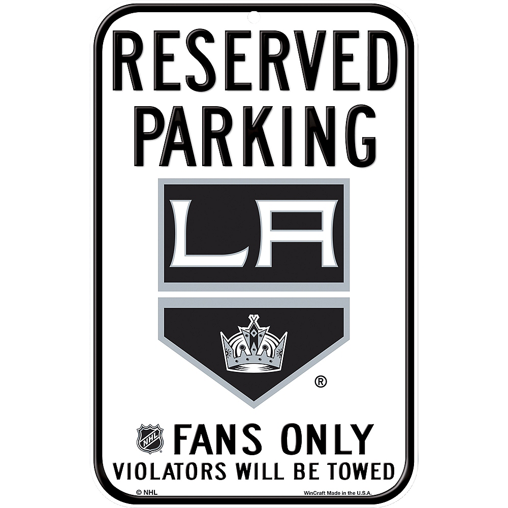 Reserved Parking Los Angeles Kings Sign Image #1
