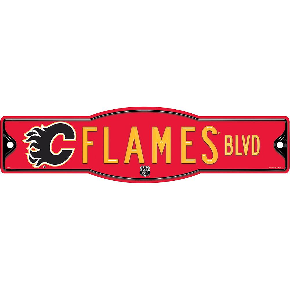 Calgary Flames Street Sign Image #1