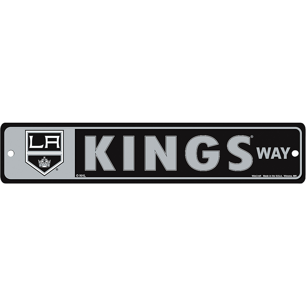 Nav Item for Los Angeles Kings Street Sign Image #1