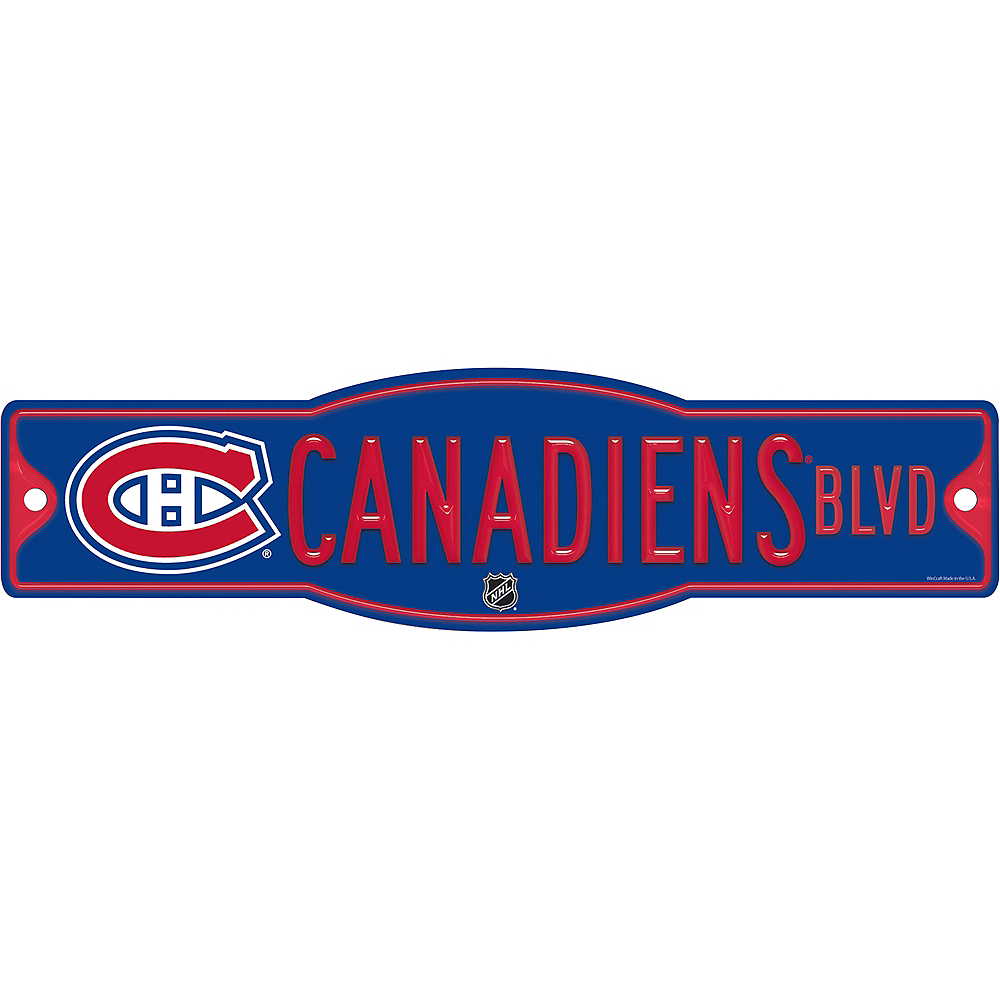 Montreal Canadiens Street Sign Image #1