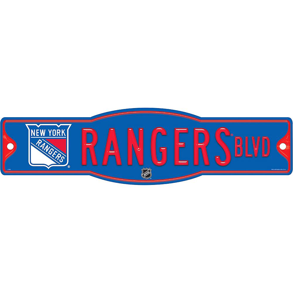 New York Rangers Street Sign Image #1