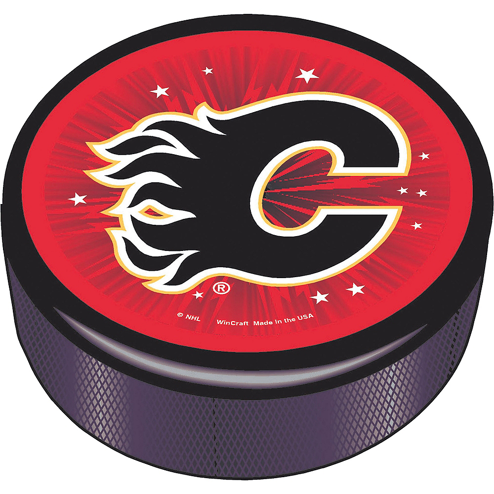 Calgary Flames Hockey Puck Image #1