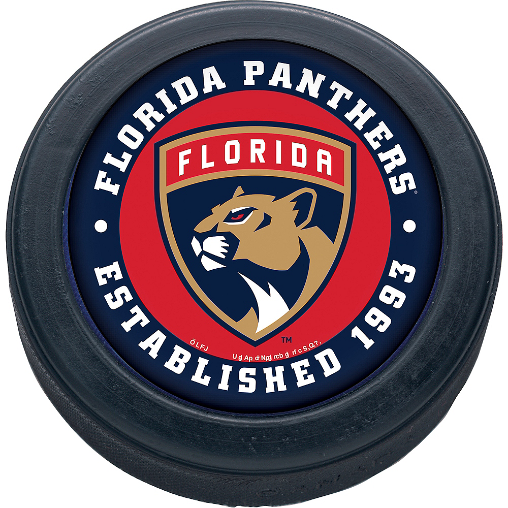 Nav Item for Florida Panthers Hockey Puck Image #1