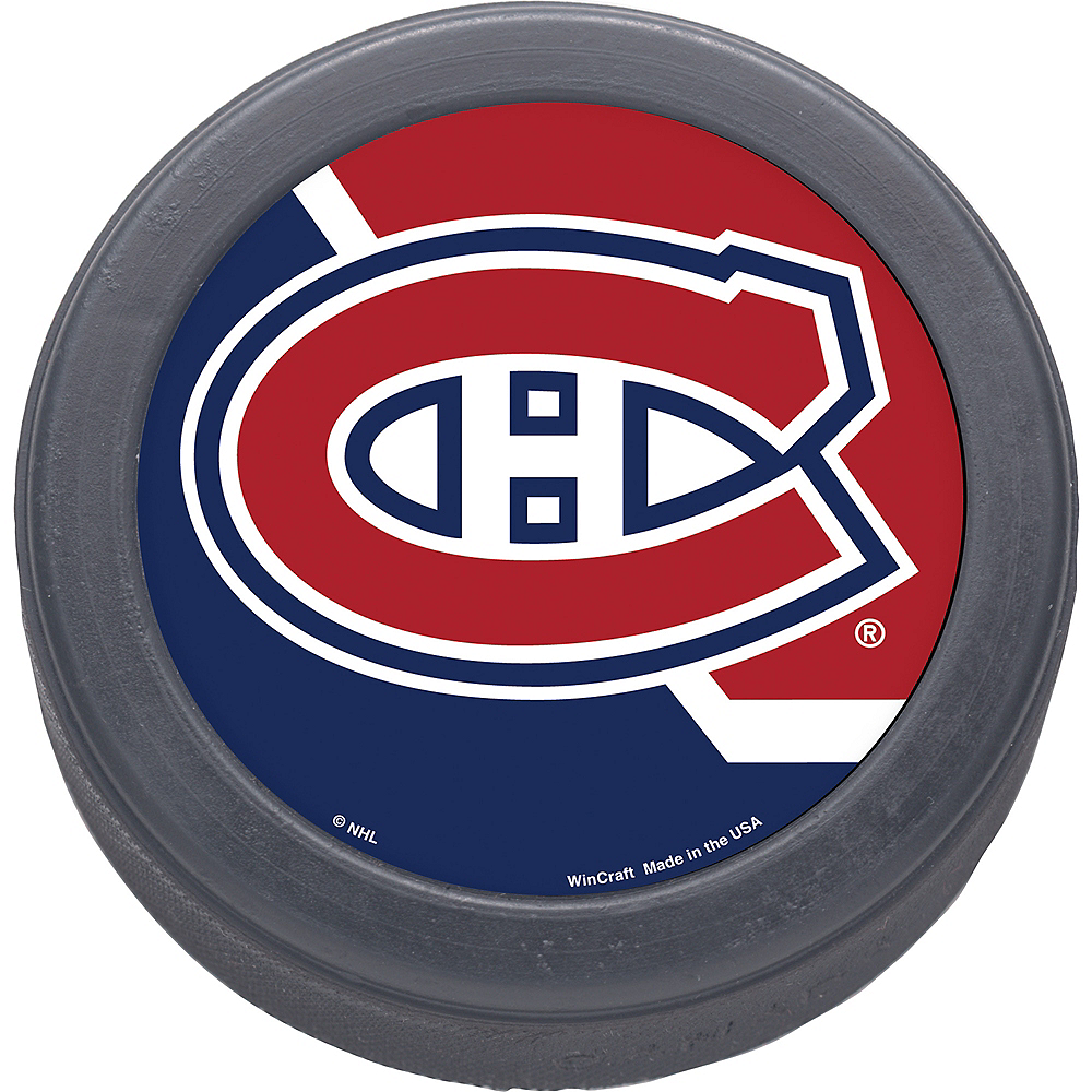 Montreal Canadiens Hockey Puck Image #1