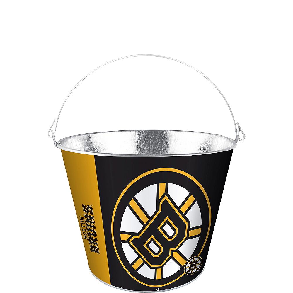 Boston Bruins Galvanized Bucket Image #1