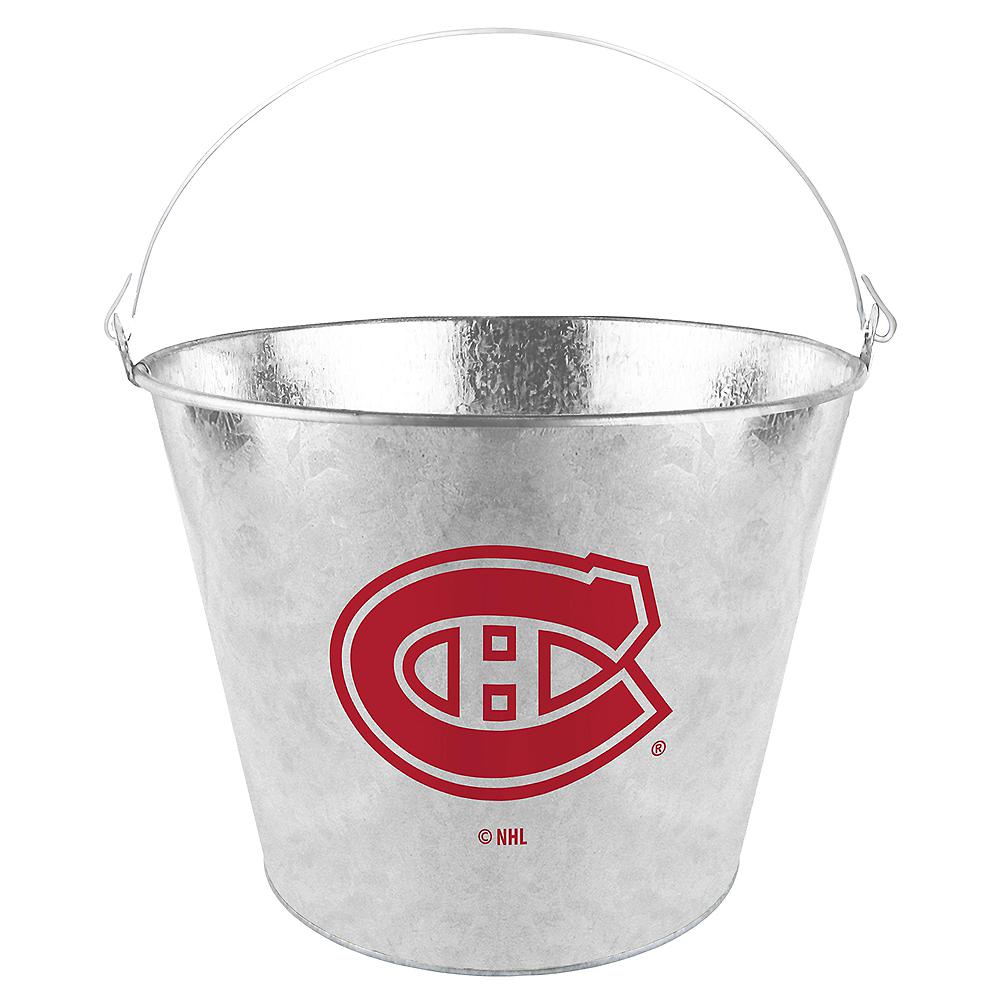 Montreal Canadiens Galvanized Bucket Image #1