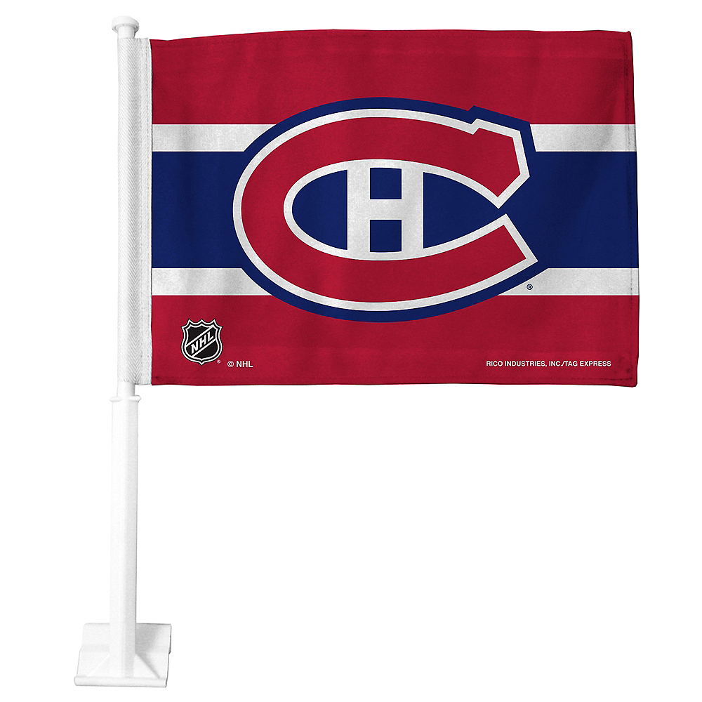 Montreal Canadiens Car Flag Image #1