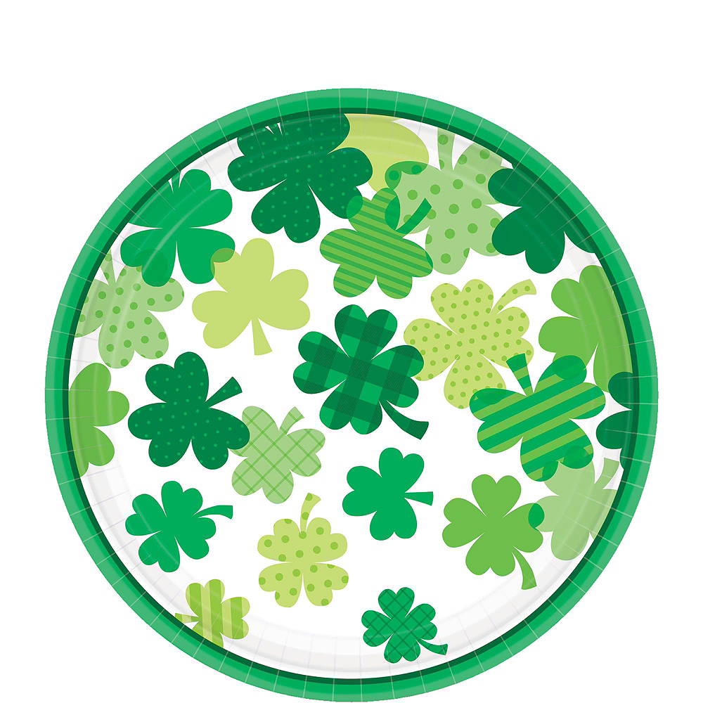 Blooming Shamrock Tableware Kit for 8 Guests Image #2