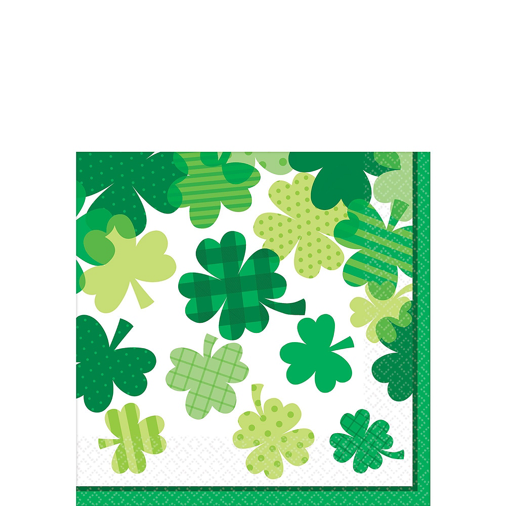 Blooming Shamrock Tableware Kit for 8 Guests Image #4