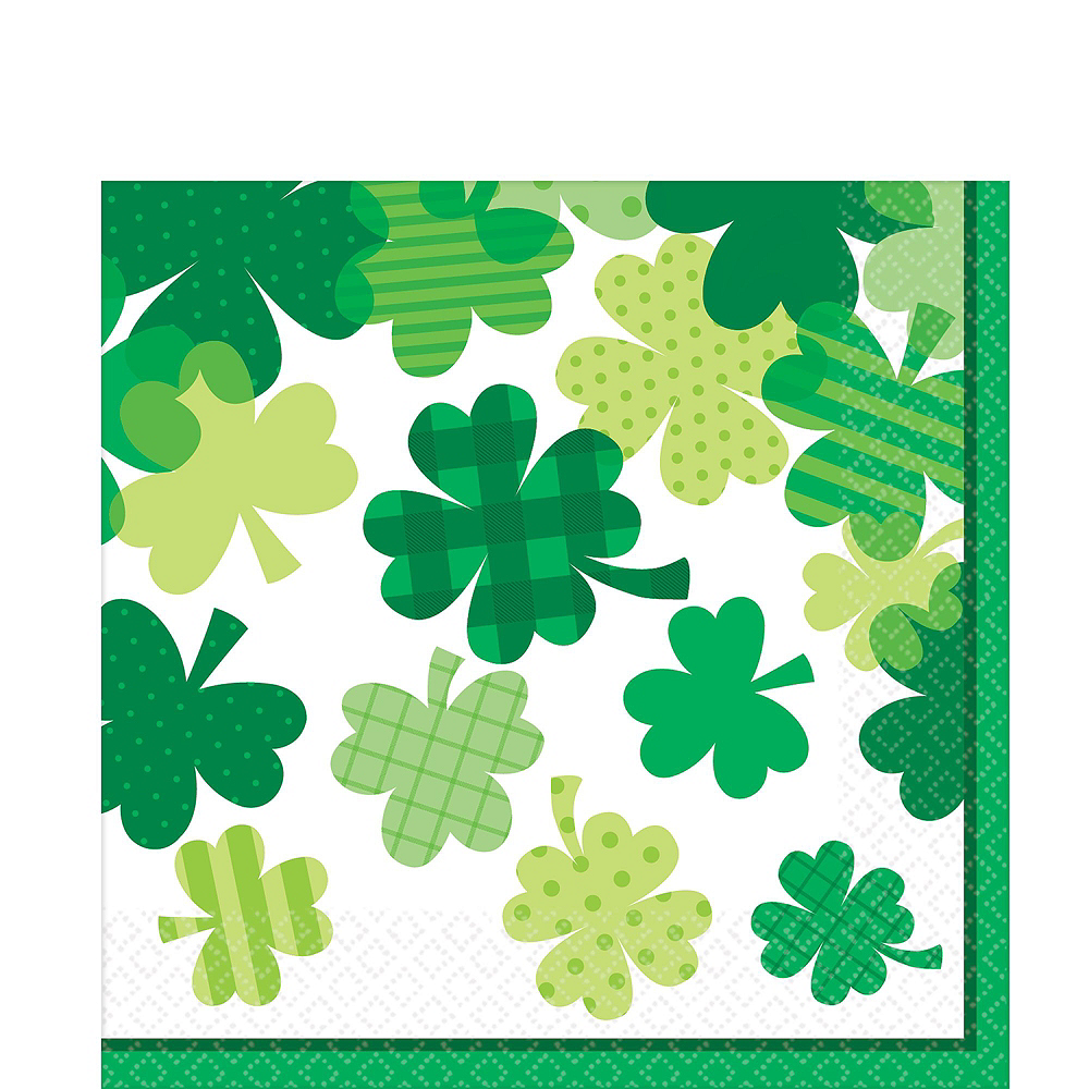 Blooming Shamrock Tableware Kit for 8 Guests Image #5