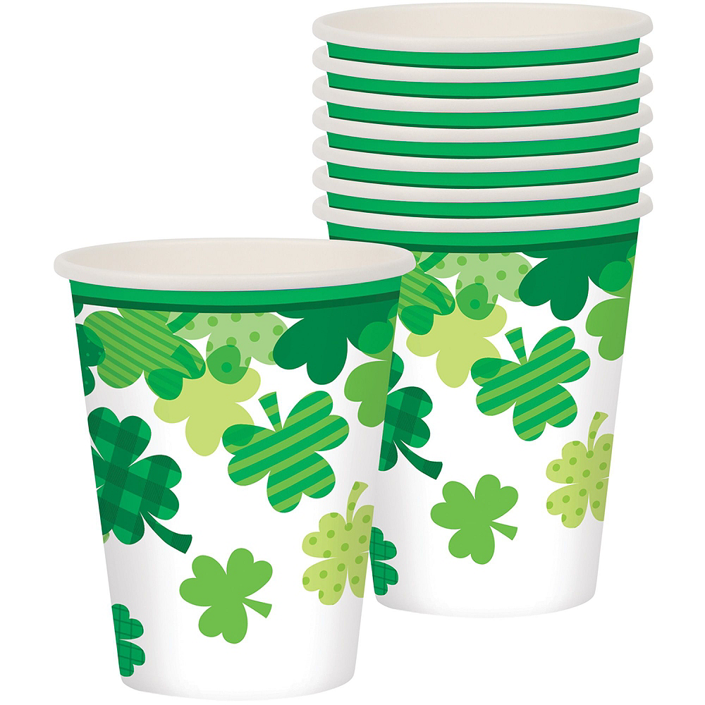 Blooming Shamrock Tableware Kit for 8 Guests Image #6