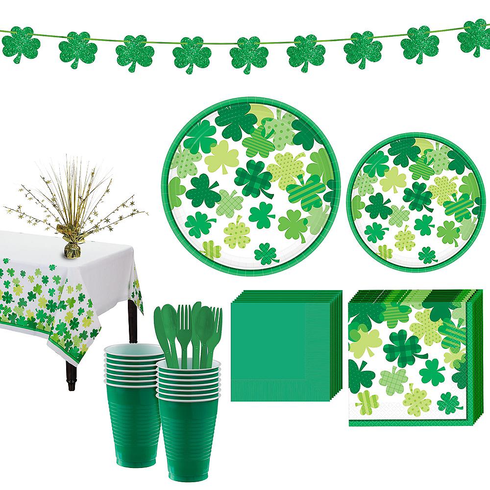 Blooming Shamrock Tableware Kit for 16 Guests Image #1