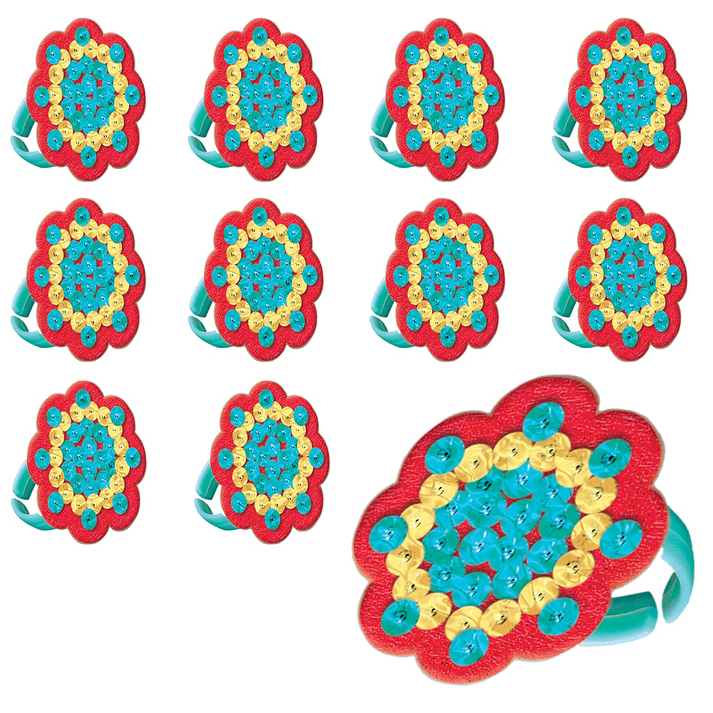 Sequin Elena of Avalor Rings 48ct Image #1