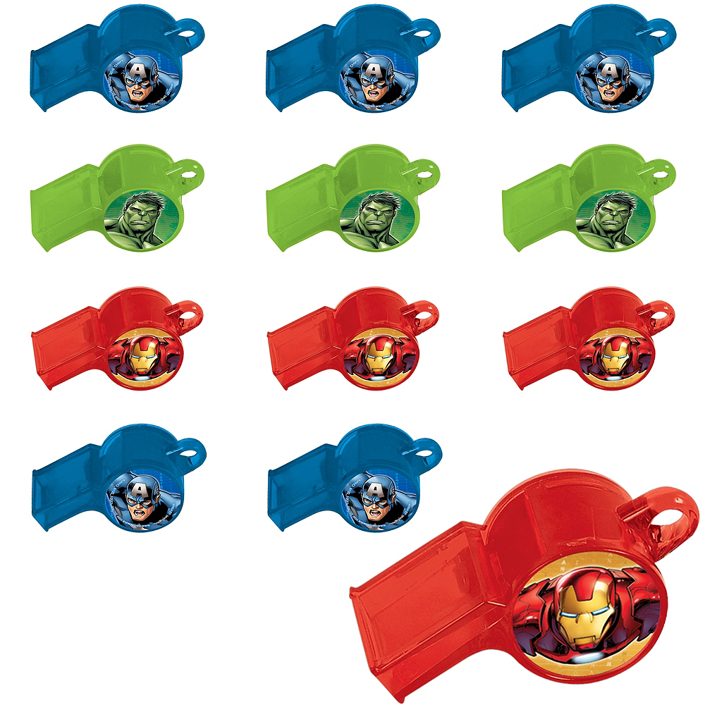 Avengers Whistles 24ct Image #1