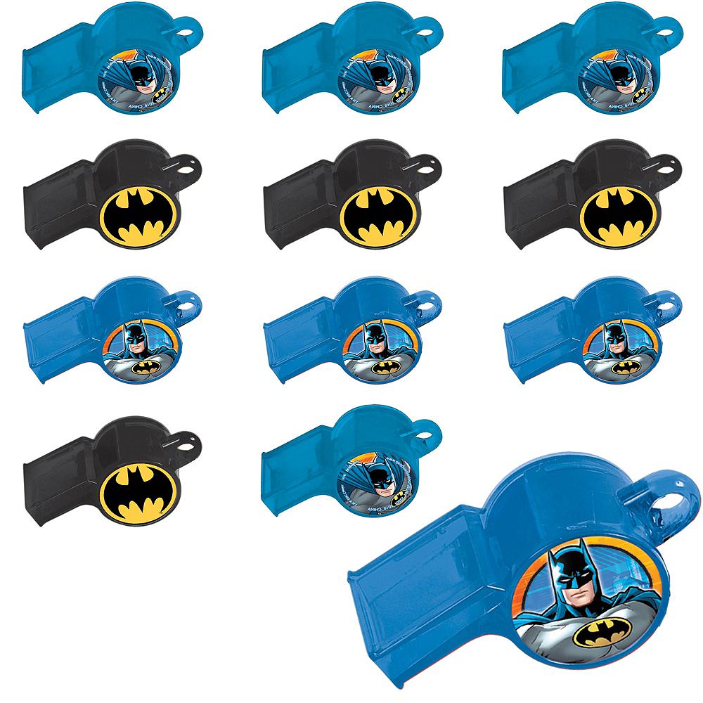 Batman Whistles 24ct Image #1