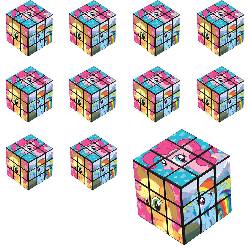 My Little Pony Puzzle Cubes 24ct Image #1