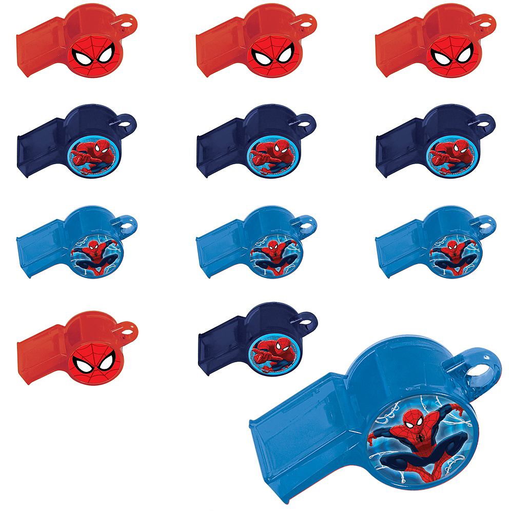 Spider-Man Whistles 24ct Image #1