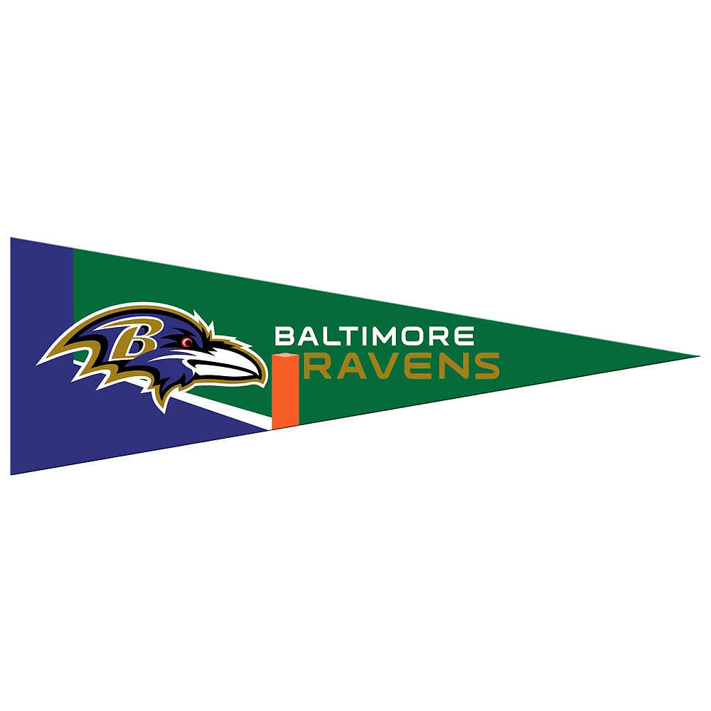 Small Baltimore Ravens Pennant Flag Image #1