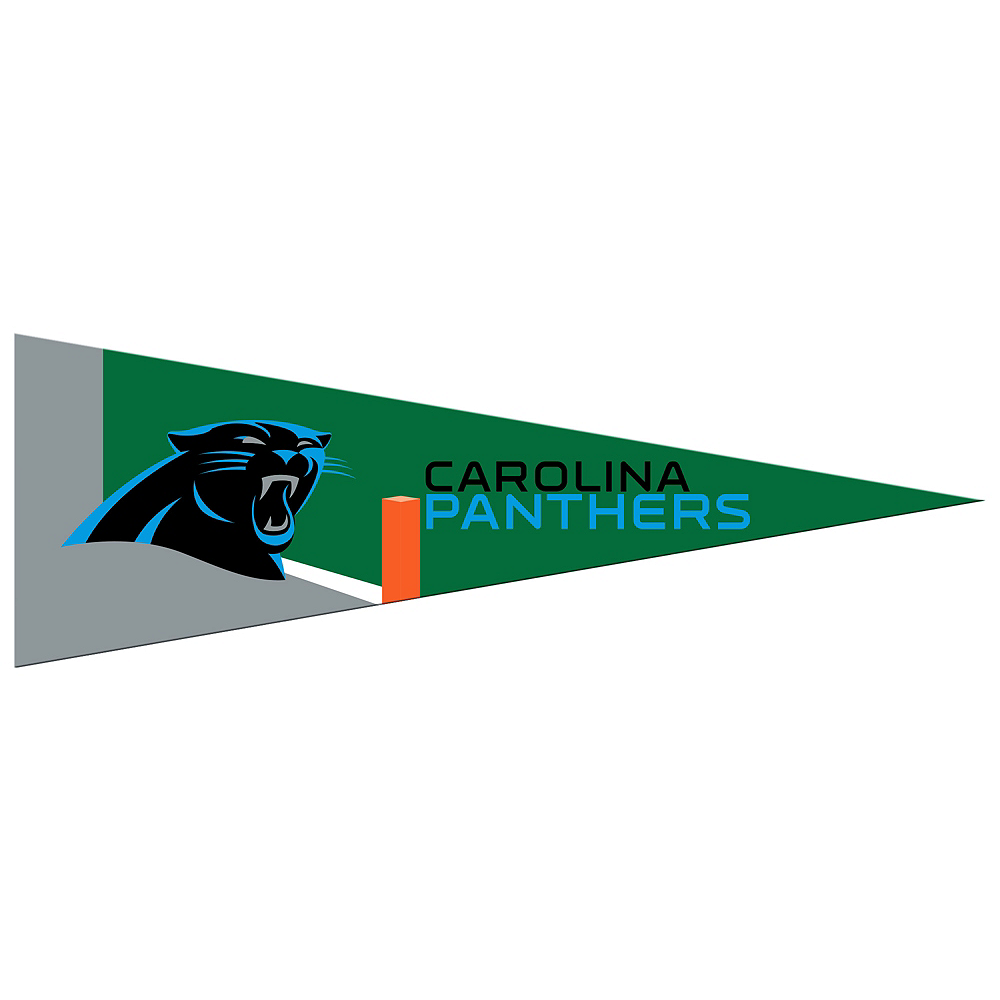 Nav Item for Small Carolina Panthers Pennant Flag Image #1