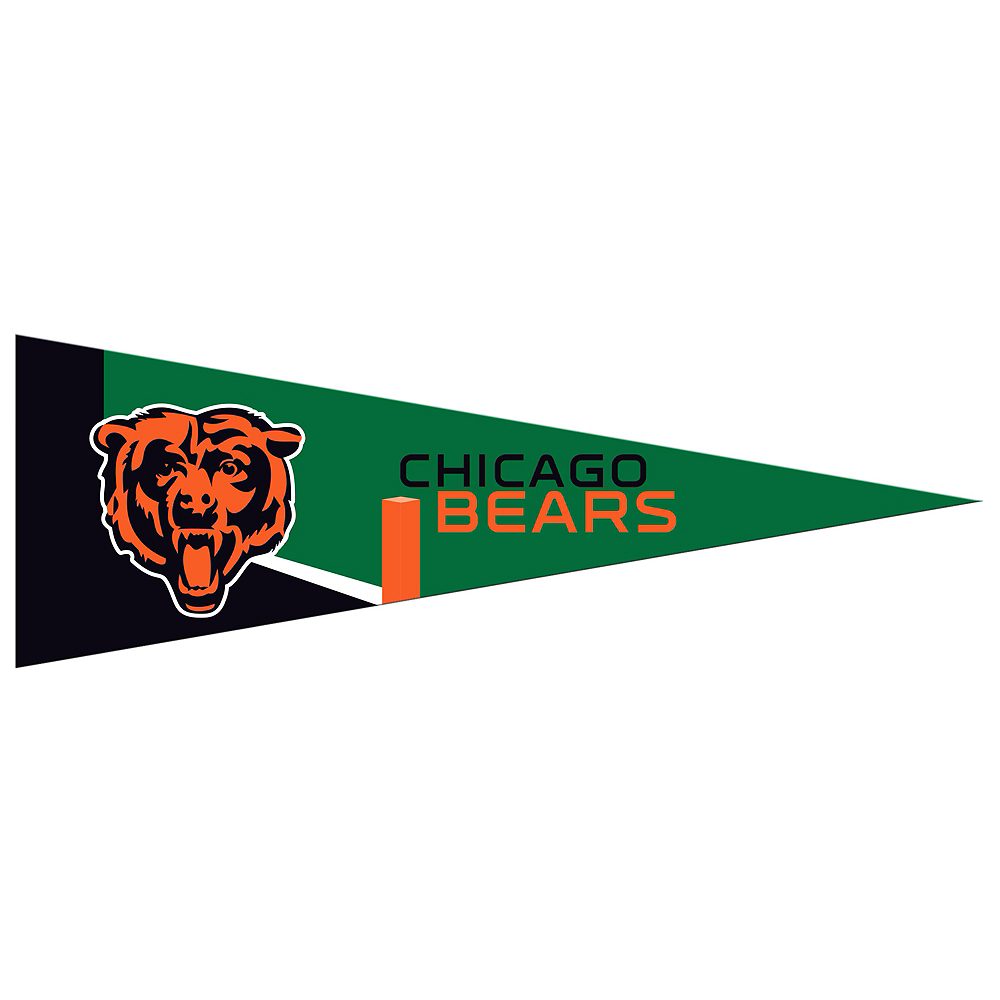 Small Chicago Bears Pennant Flag Image #1