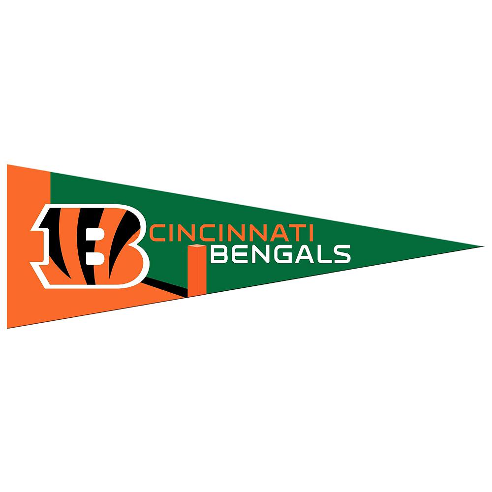 Small Cincinnati Bengals Pennant Flag Image #1