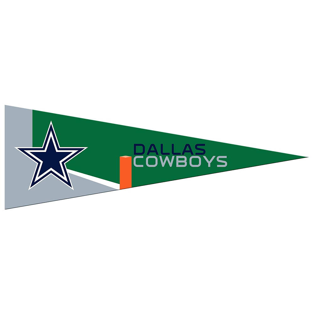 Small Dallas Cowboys Pennant Flag Image #1