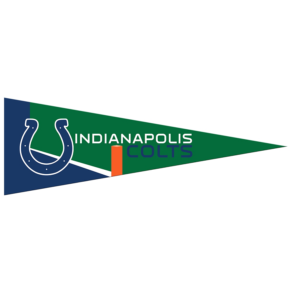 Small Indianapolis Colts Pennant Flag Image #1