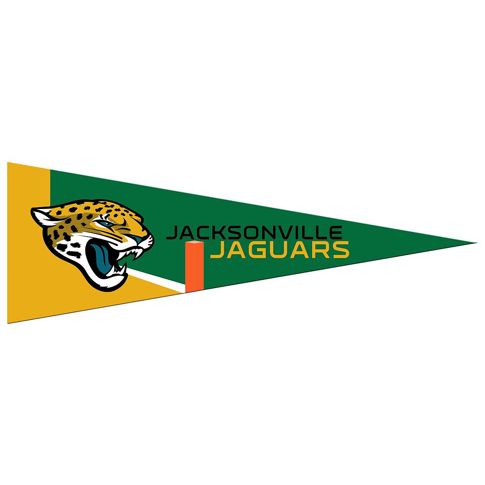 Small Jacksonville Jaguars Pennant Flag Image #1