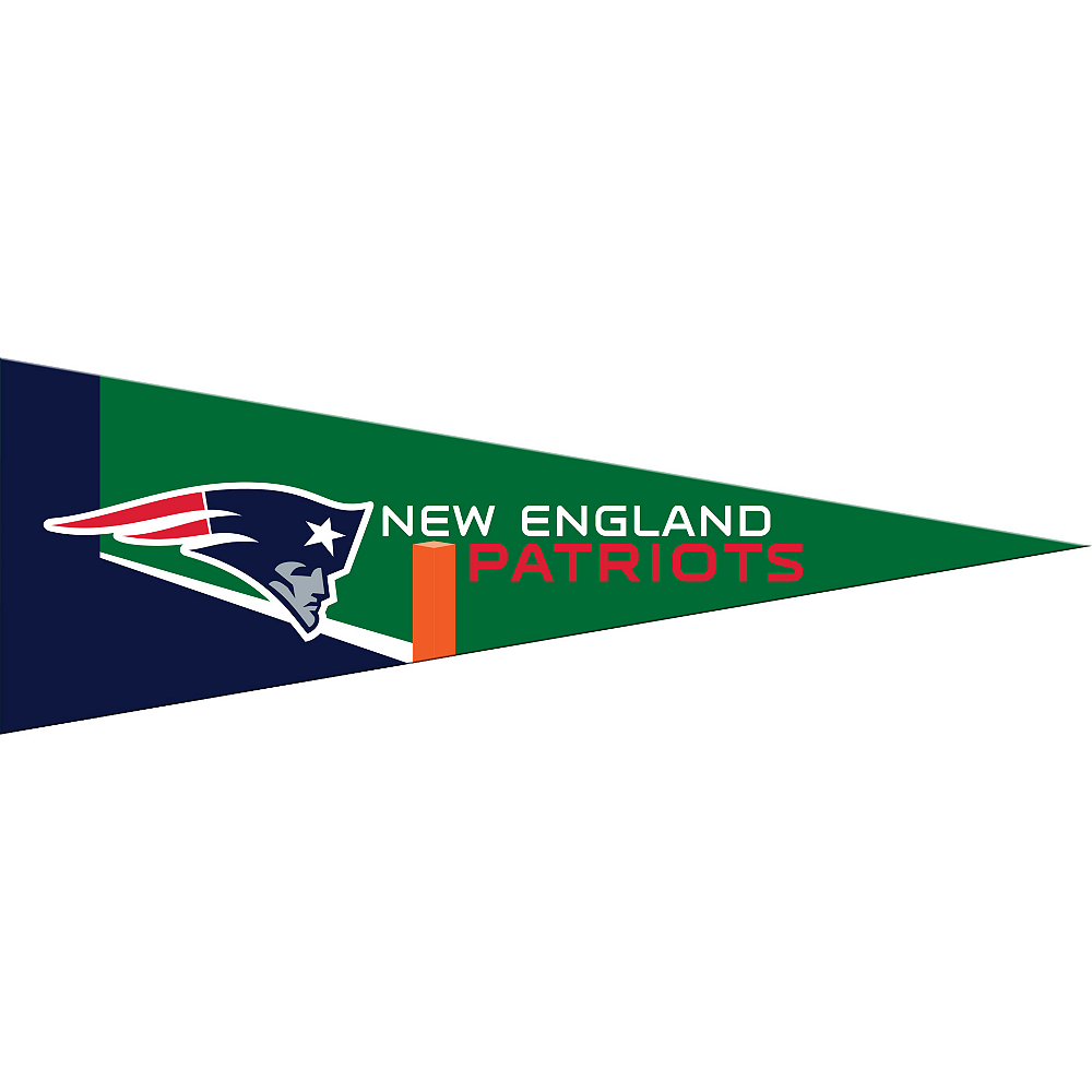 Small New England Patriots Pennant Flag Image #1