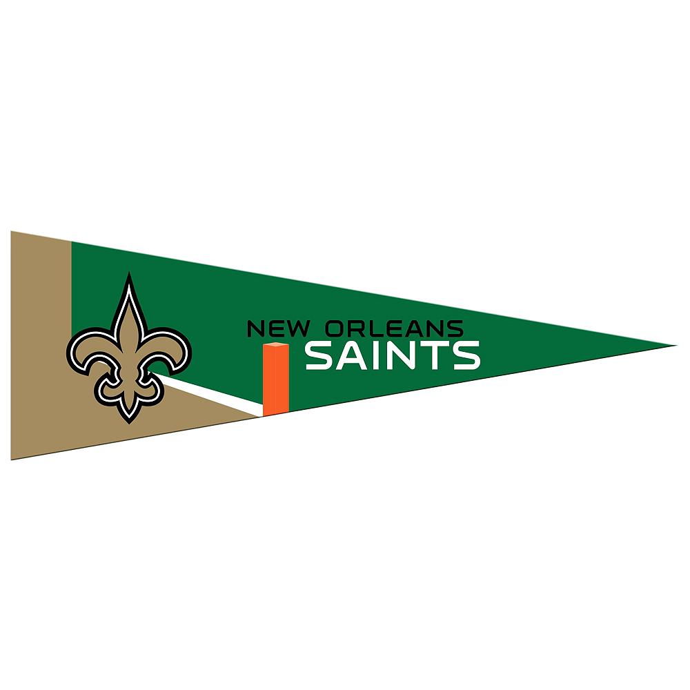 Small New Orleans Saints Pennant Flag Image #1