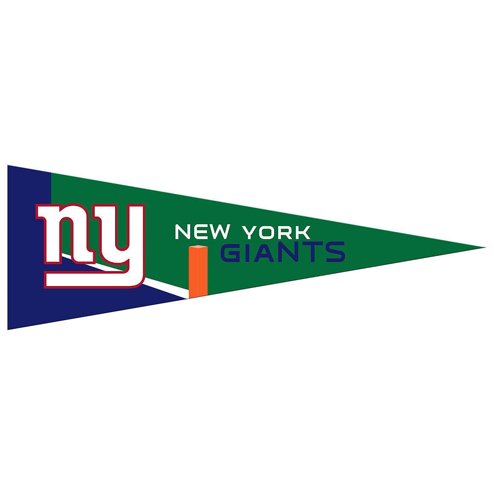 Small New York Giants Pennant Flag Image #1