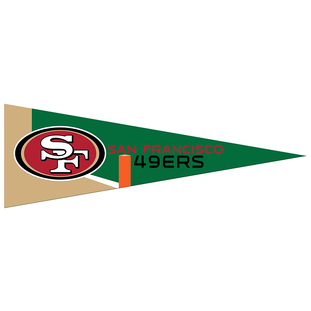 Small San Francisco 49ers Pennant Flag Image #1