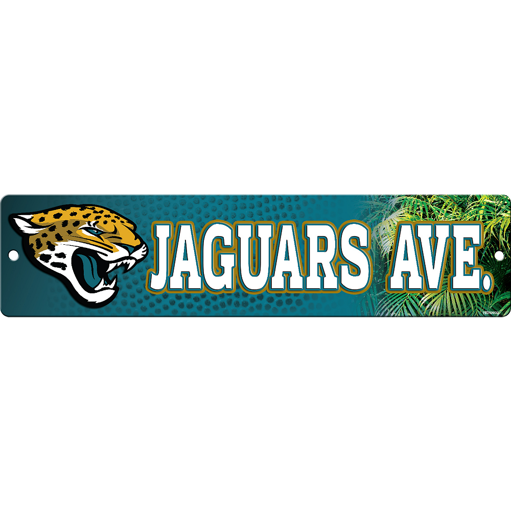 Nav Item for Jacksonville Jaguars Street Sign Image #1
