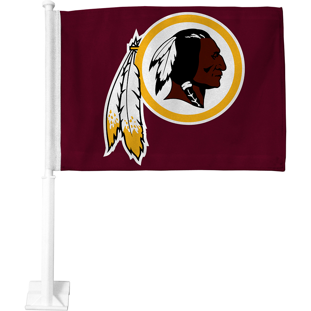 Washington Redskins Car Flag Image #1