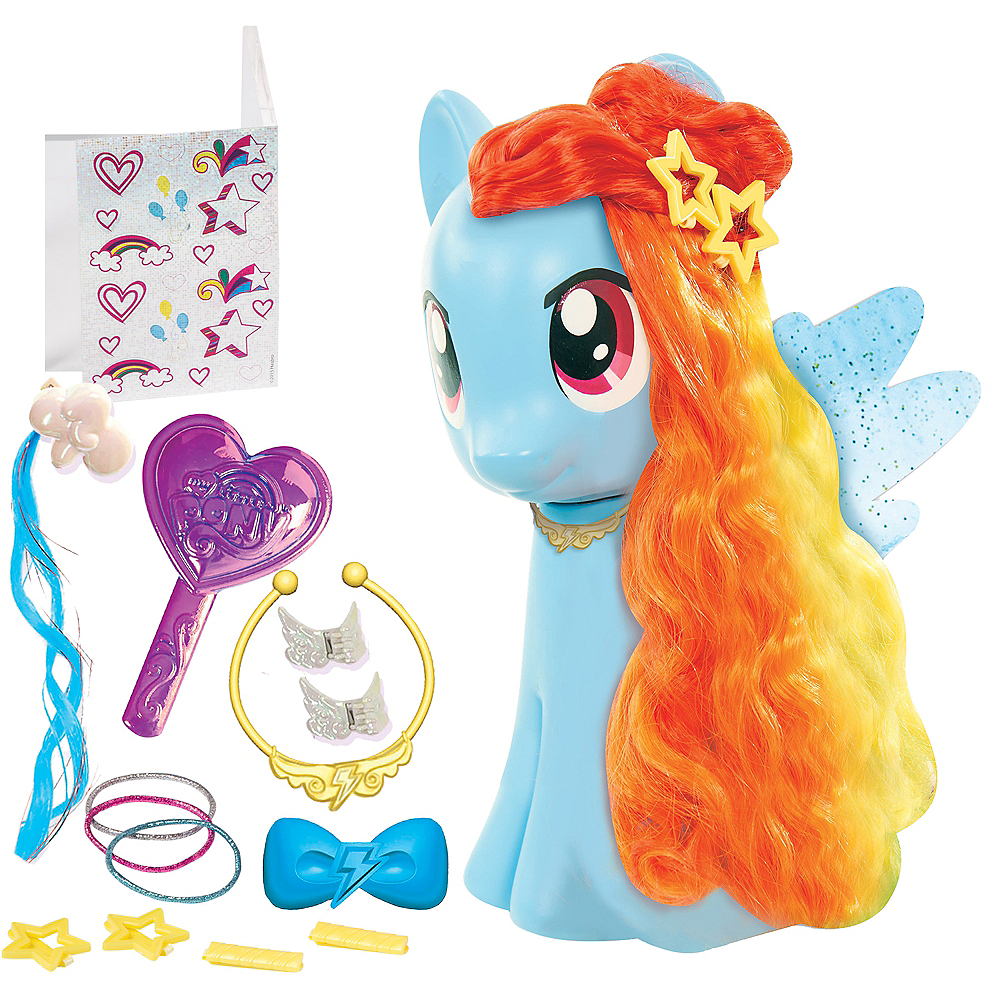- Rainbow Dash Styling Playset 17pc - My Little Pony Party City