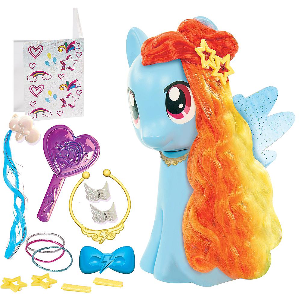 Rainbow Dash Styling Playset 17pc - My Little Pony Image #1