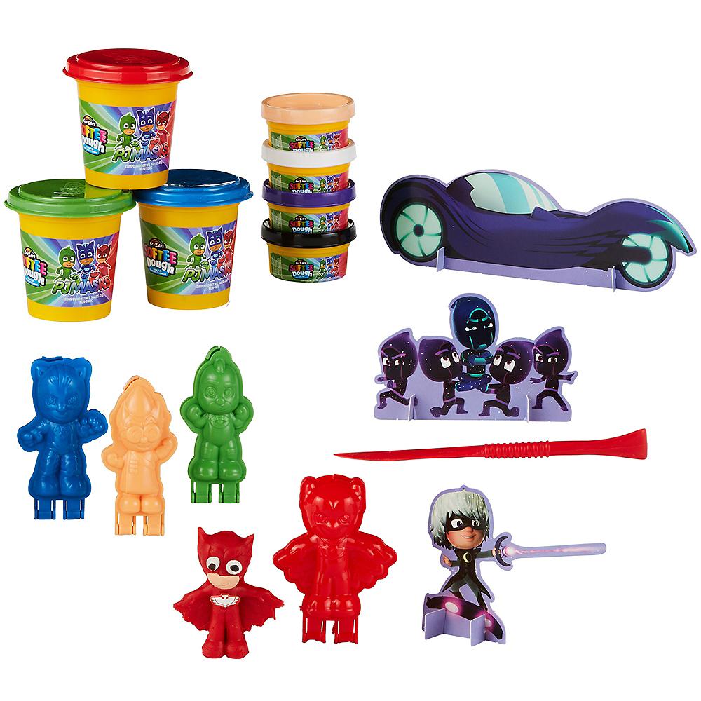 Softee Dough PJ Masks 3D Figure Maker Playset 13pc Image #1
