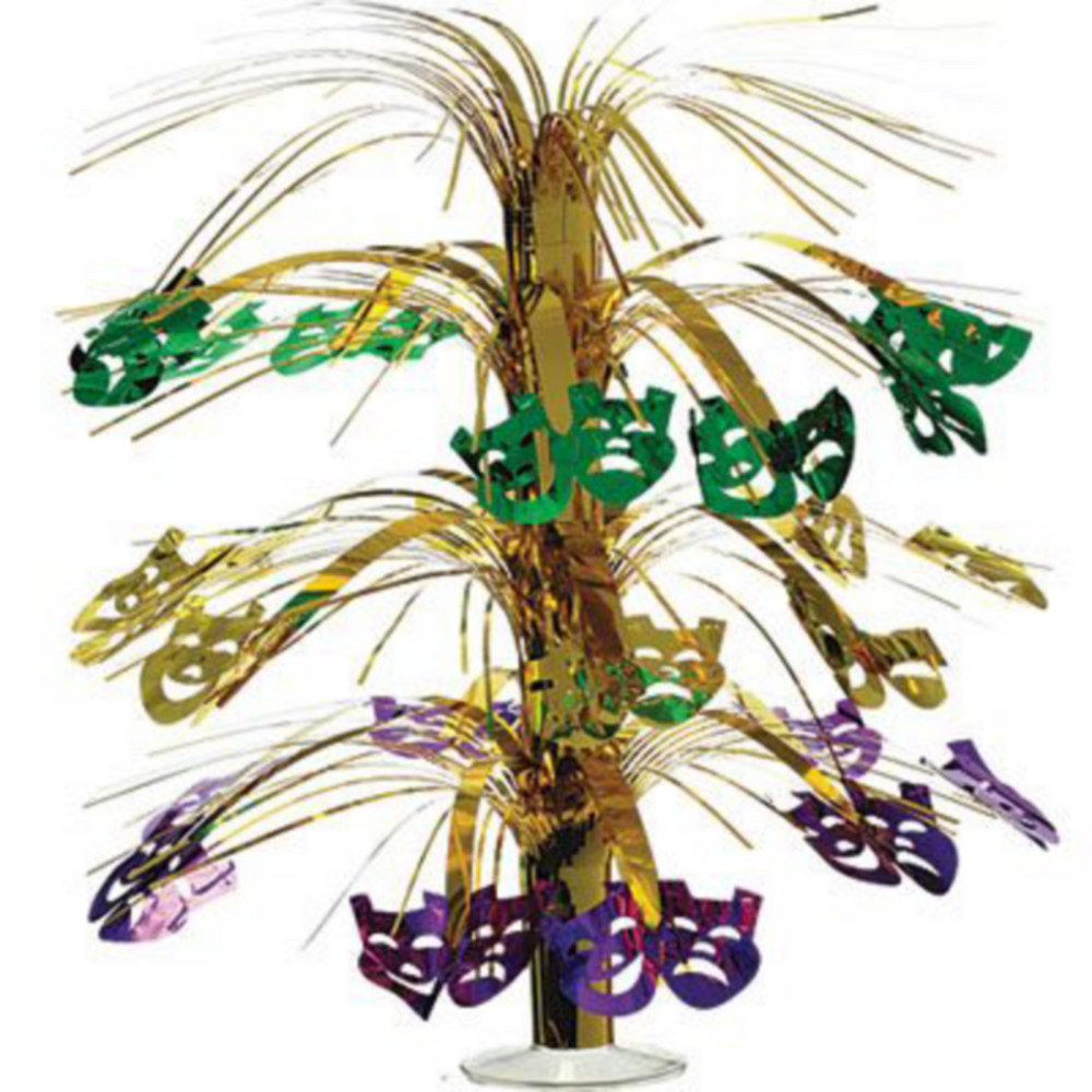 Masquerade Mardi Gras Basic Party Kit for 8 Guests Image #8