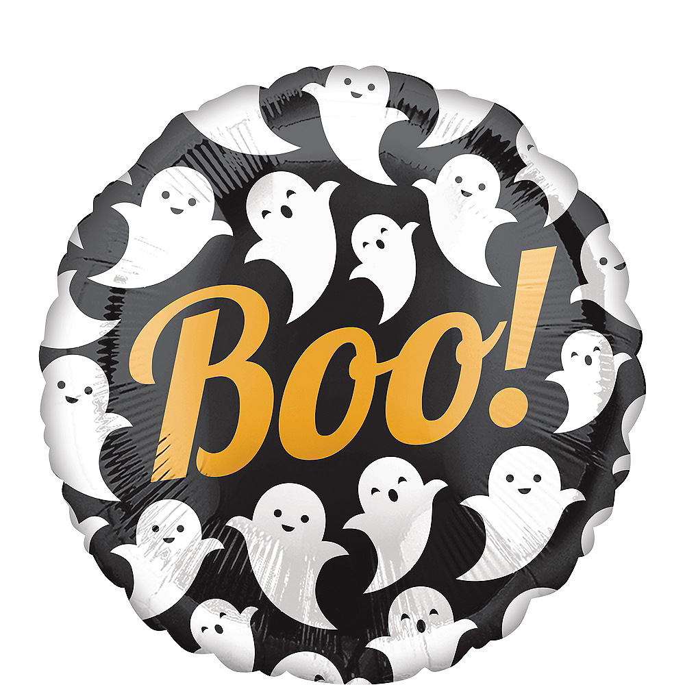Boo Ghost Balloon, 17in Image #1