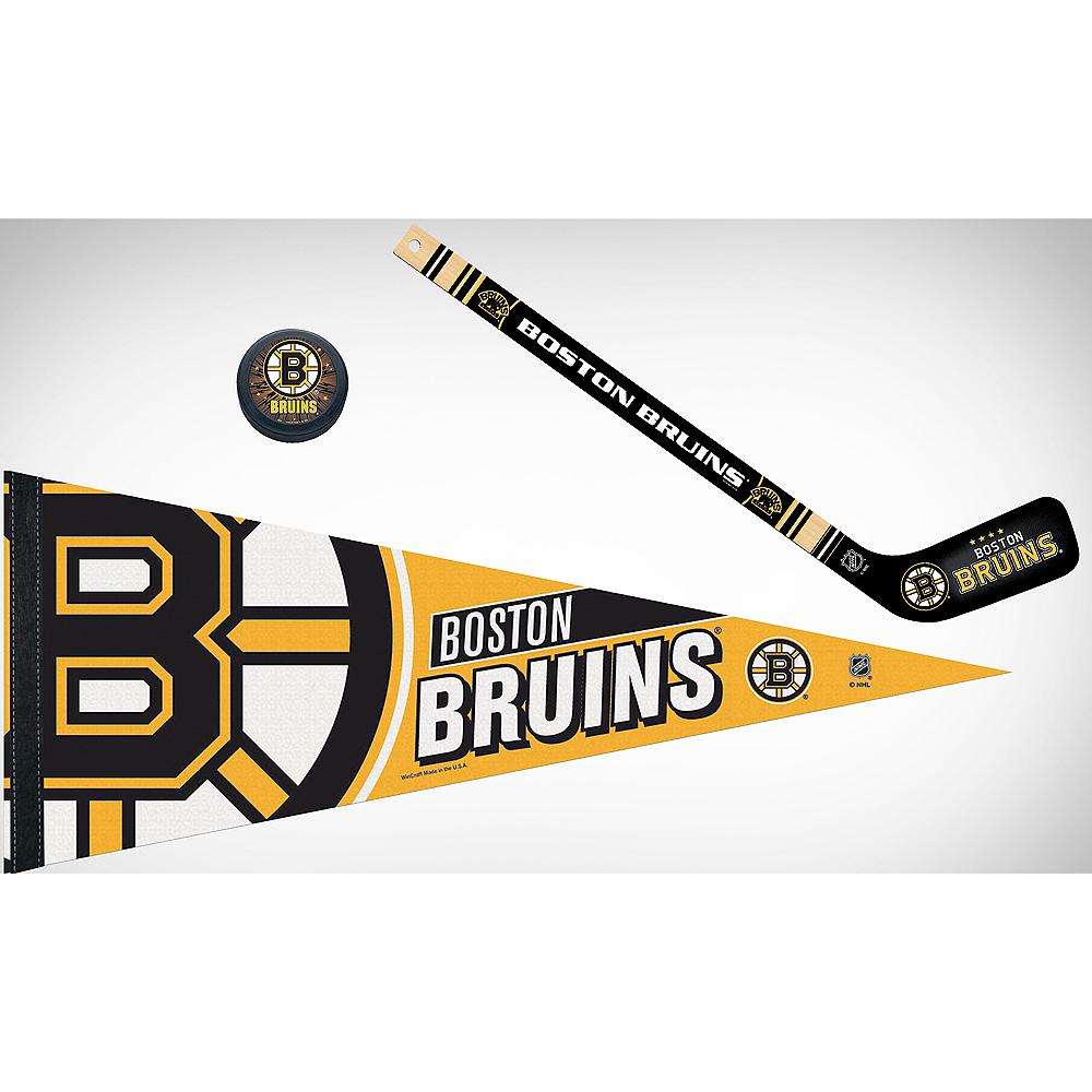 Boston Bruins Slap Shot Fan Kit Image #1