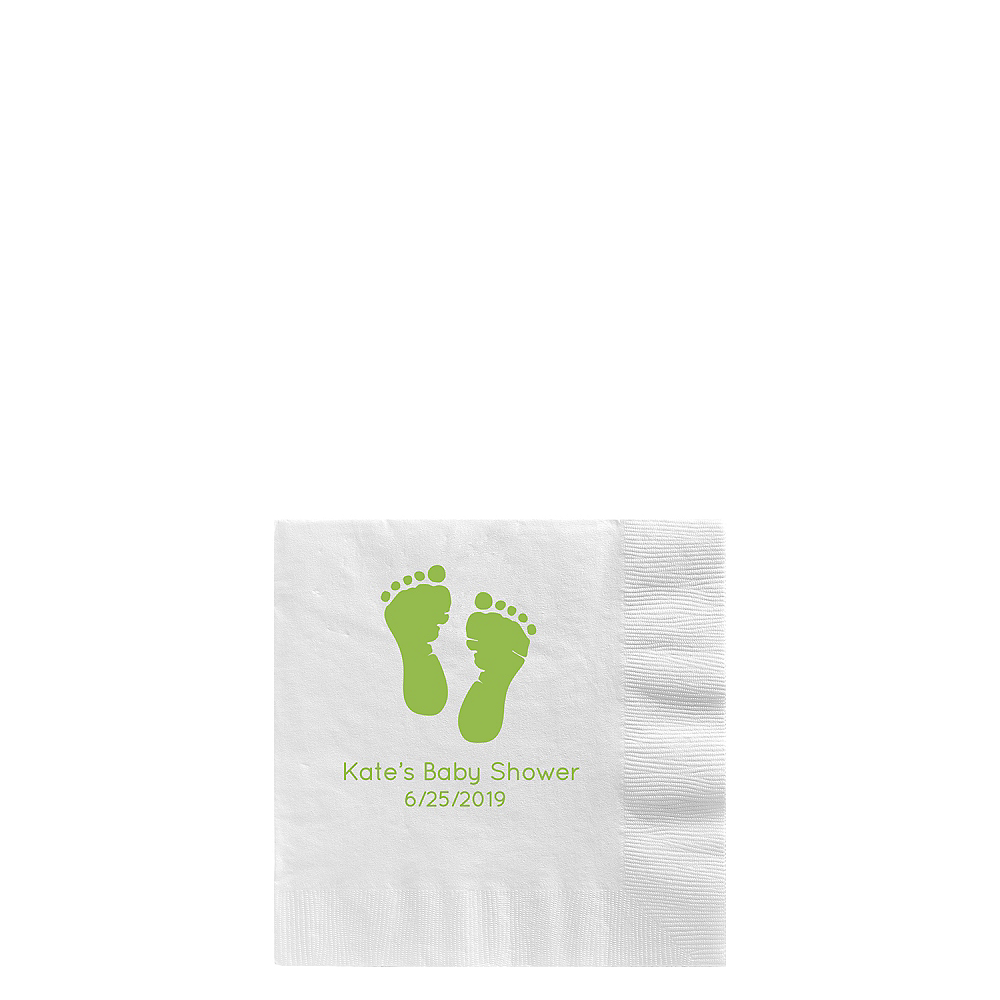 Personalized Baby Shower Lunch Napkins Image #1